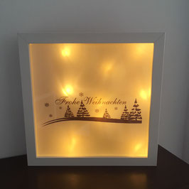 "LED Bilderrahmen ""Frohe Weihnachten"""