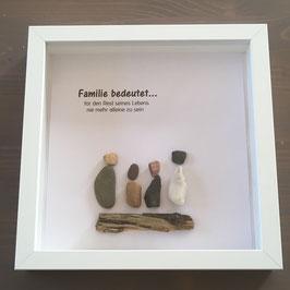 Bilderrahmen Familie
