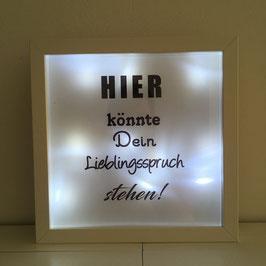 LED Bilderrahmen - Der Rahmen kann individuell gestaltet werden