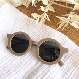 Sonnenbrille / Pilotenbrille - Taupe