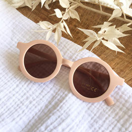 Sonnenbrille / Pilotenbrille - Champagner