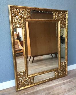 Grote gouden spiegel