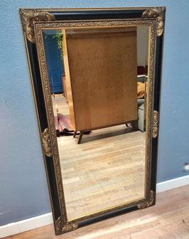 Grote spiegel - goud zwart