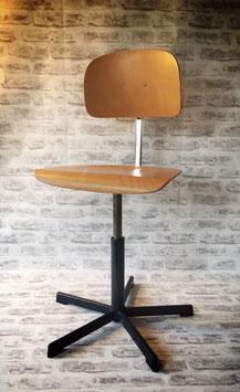 Houten hoge bureaustoel