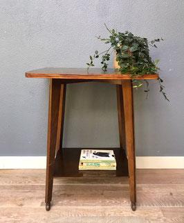 Sidetable / LP-tafel op wieltjes