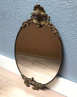 Koperen spiegel