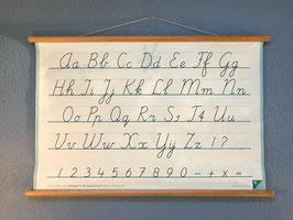Schoolplaat Letters en Cijfers