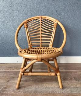 Klein bamboe stoeltje