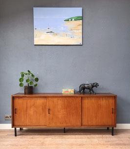 Houten lowboard / dressoir