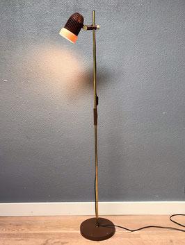Messing vloerlamp