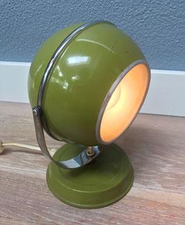 Groen space age wandlampje