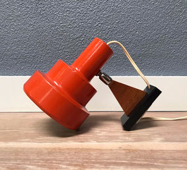 Oranje wandlamp