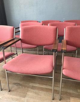 Set 8 stoelen - Gijs vd Sluis