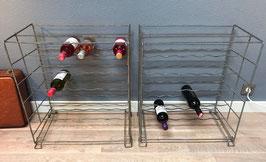 Metalen wijnrek - per stuk
