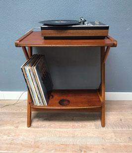 Houten audiomeubel / platentafel
