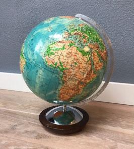 Columbus globe met houten voet