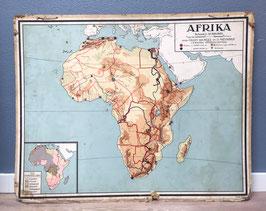 Schoolplaat Afrika