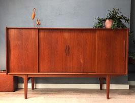 Vintage Deense sideboard / dressoir