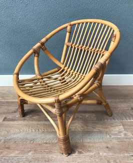 Bamboe stoeltje voor kleuter