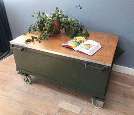 Salontafel - olieopvangbak - groen