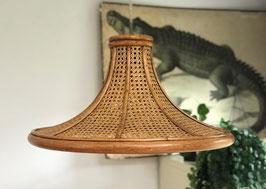 Grote rotan hanglamp