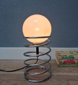 Tafellamp metalen spiraal