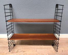 Tomado wandrek met twee houten planken