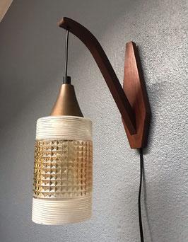 Wandlamp met puntig glas