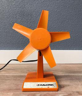 Oranje ventilator van Kalorik