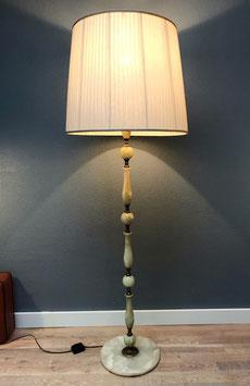 Marmeren vloerlamp