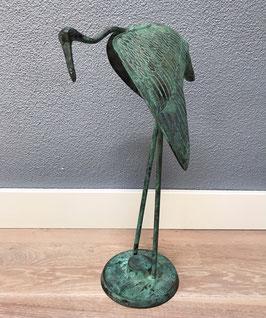 Bronzen kraanvogel / reiger
