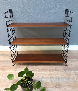 Tomado wandrek met houten planken