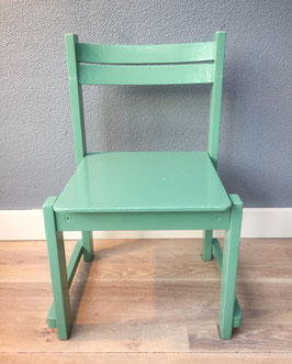 Mintgroen stoeltje