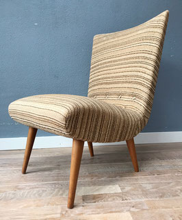 Vintage fauteuil - hoge leuning