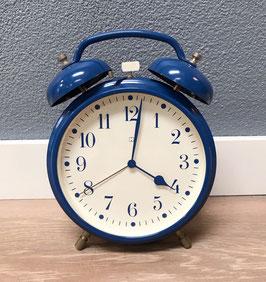 Grote blauwe wekker