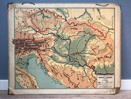 Schoolplaat Donau-landen