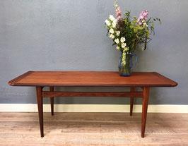 Vintage houten salontafel