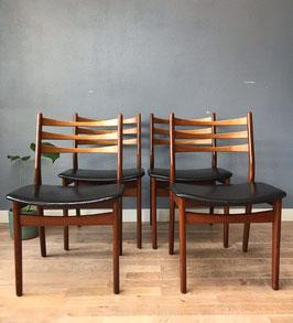 4 zwarte Topform stoelen