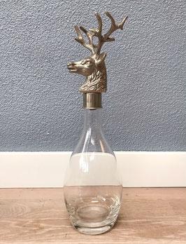 Wijnstopper hert + fles