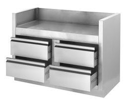 Einbau-Grillunterschrank für BIPRO825
