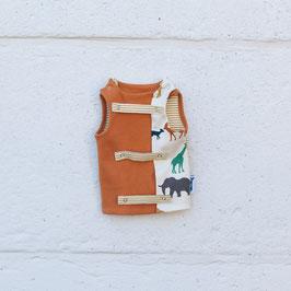 Bloes - Giraf (oranje & strepen)