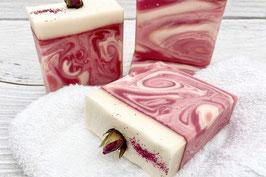 Rose-Hagenbutte Seife