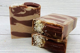 Schokolade-Kokos Seife