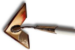 """Binette cœur """"COR"""" en alliage cuivre massif"""