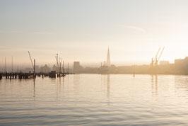 Hansestadt Rostock Sonnenaufgang II digitaler Dateidownload