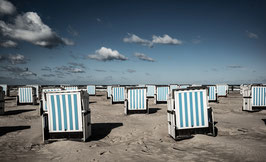 Warnemünde Strandkörbe, digitaler Dateidownload