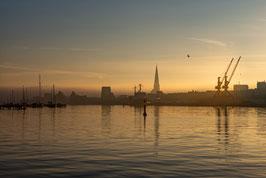Hansestadt Rostock Sonnenaufgang III digitaler Dateidownload