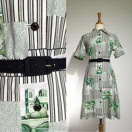 House Art 70s dress, Japan | M