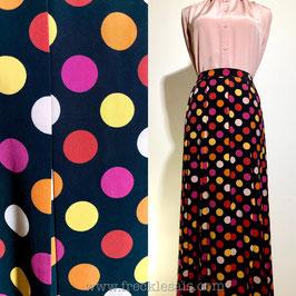 Weill Polka 80s pleated skirt, France | M