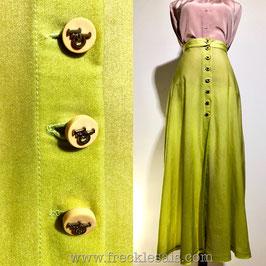 Roccobarocco 80s long skirt, Italy | XS